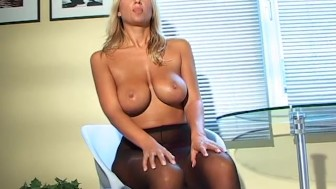 Busty blonde babe - Java Productions