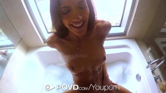 HD POVD - Chloe Amour gets her wet pussy fucked