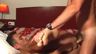 Handsome Room service guy gets fucked by a client in spite of him !
