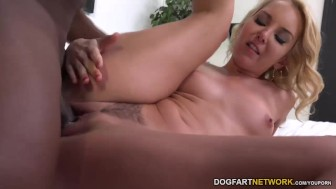 Aaliyah Love Welcomes A Black Cock In Her Pussy