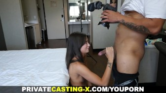 Private Casting X - Power-fucking and cumshot
