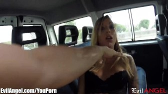 EvilAngel Italian Hooker Picked Up and Buttfucked