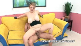 Busty slut Sierra Skye takes a stiff cock in her wet twat