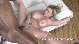 Mature slut Sara Jay gets pounded with some black dick