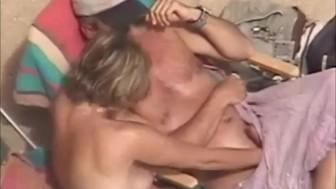 Husband secretly masturbates his wife