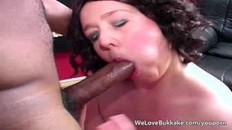 Fat white girl with big black cock