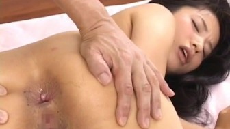 Momo Junna has hairy slit fucked with sex toys and with boners