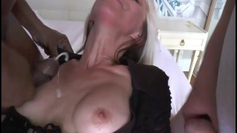 A blonde milf pussy exploded by bobvideosx