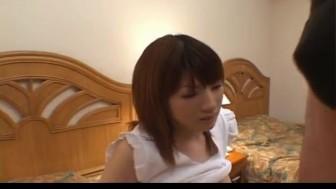 Kyoko Fukuzawa has hairy crack licked, rubbed and fucked a lot