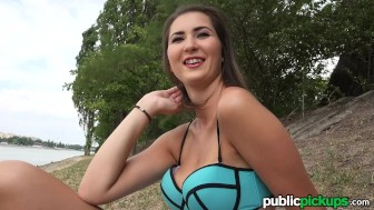 Mofos - Teens takes in some sun, and some cock