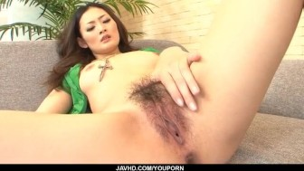 Superb Risa Murakami gets fucked until exhaustion