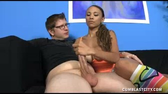 Teen Babe Gets Her Wishes Over Step-bro Materialized