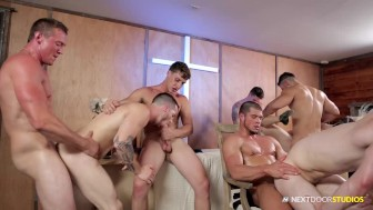 NextDoorBuddies Orgy In THE REUNION