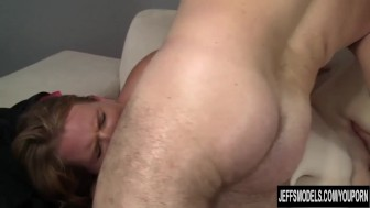 Cute and sexy BBW Scarlet Raven hardcore fuck