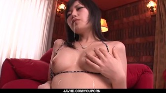 Hikaru Kirameki loves throating more than one cock