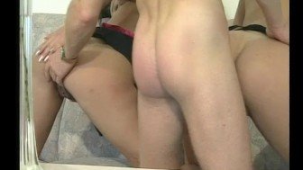 Fucking and sucking from two babes - Julia Reaves