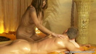 Replenish The Energy with a Body and Cock Massage