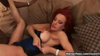 Redhead MILF's anal fantasy