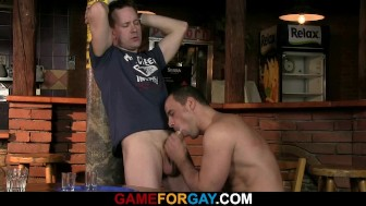 Barman's first gay sexual experience