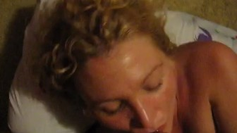 Cumming in ex wife's mouth
