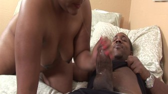Fucking an ebony BBW - Blackout Pictures