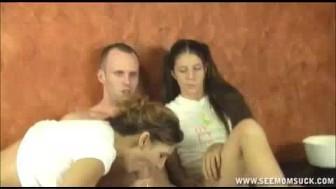 Porn Flick Makes Milf's Pussy Go Throbbing