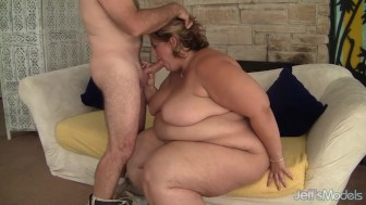 Fat and horny BBW Erin Green hardcore fuck