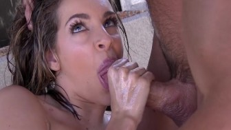 LUBED - Kimmy Granger dripping wet pussy fucked by Johnny Castle