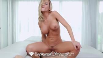 PureMature - Busty Milf Destiny Dixon loves hard cock