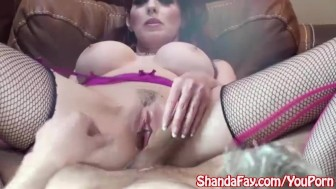 Kinky Milf Shanda Fay gets a Late Night Fucking!