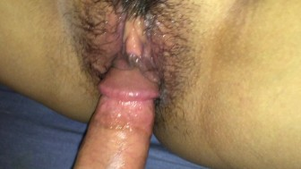 CLOSE up Fucking Creamy sexy Thai Pussy