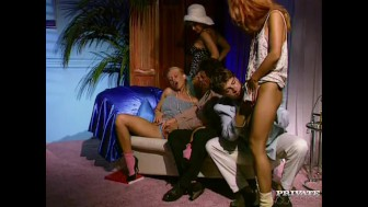 Aniko Jacqueline, Lovette and Dina Pearl Anal Orgy
