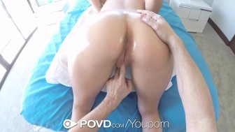 POVD - Teen brunette Shane Blair fucked in POV