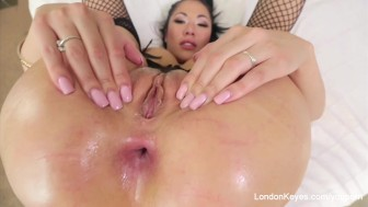 POV anal sex with hot Asian Pornstar London Keyes