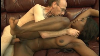 Ebony Chick Gets Fucked By White-Dicks - Ultima