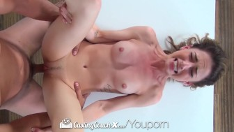 CastingCouch-X - Care free Kristen Scott is eager to start porn career