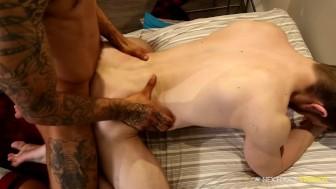 NextDoorEbony Black Big Cock Stud Fucks White Dude