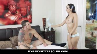 MYBabysittersClub- Hipster Babysitter Fucked By Her Boss