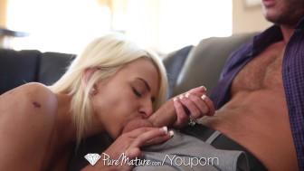 PureMature - Danny Mountain fucks skinny blonde Kali Kavalli