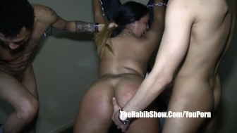 she takes dominican bbc macana man donny sins gangbang squad