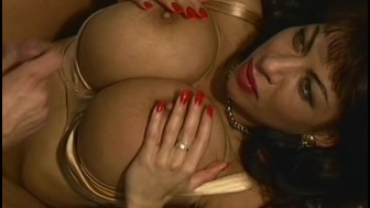 Brunette MILF With Gigantically Gifted Boobs Fucked