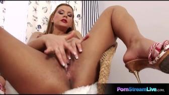 Gorgeous Dorothy Black masturbate to orgasm