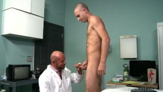 ExtraBigDicks Muscular Doctor Gives Intense Exam