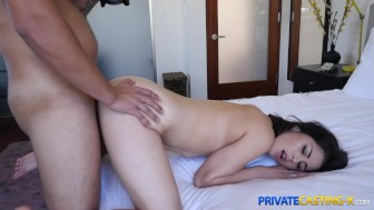Private Casting X - She loves sucking balls