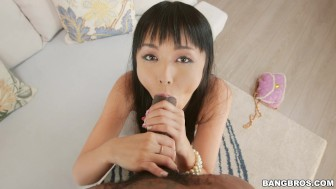 Shy Japanese Girl Marica Hase Gets Monsters of Cock Anal (mc15033)