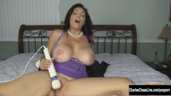 Beautiful MILF Charlee Chase Needs to Make Her Pussy Cum!