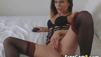 Slutty Chick gets her Tight Pussy Fucked Hard