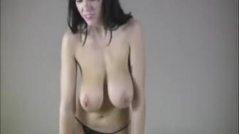 Brunette tit-fucking