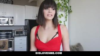 SisLovesMe - Hot Step-Sis Violet Starr Gets Tied Up & Fucked