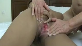 Asian babe has a hot time as the dude ravages her